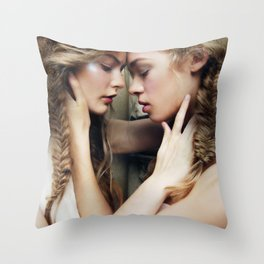 Roxy & Claire Throw Pillow