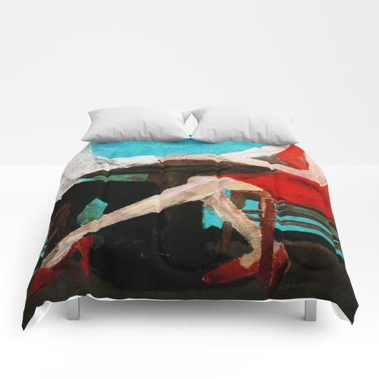 Red Dress Comforters