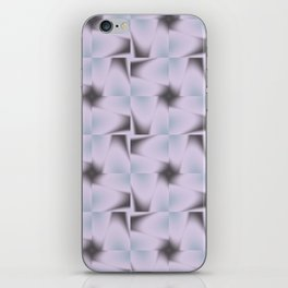Origami Tiles Fractal in TPGY iPhone Skin
