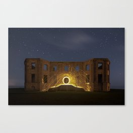 Mysterious Shapes Of The Night Canvas Print