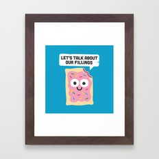 Tart Therapy Framed Art Print
