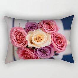 Pink roses Rectangular Pillow