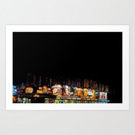 Street Fair Pt. 1 Art Print
