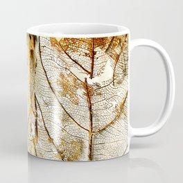 Gold Leaf Coffee Mug