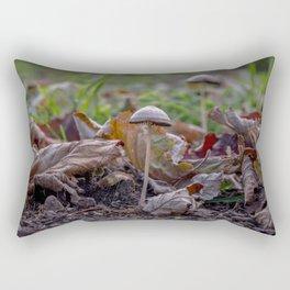 Growing mushroom Rectangular Pillow