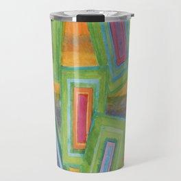Vibrant Rectangles  Travel Mug