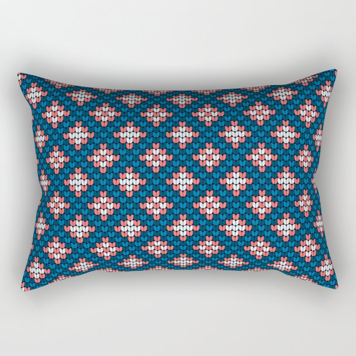 Pattern in Grandma Style #57 Rectangular Pillow