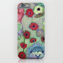 i am the dandelion in the wind iPhone Case