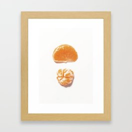Mini clementine Framed Art Print