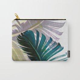 Botanical Banana leaf print Carry-All Pouch