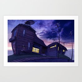 Tight House Art Print