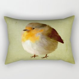 Chubby Bird Rectangular Pillow