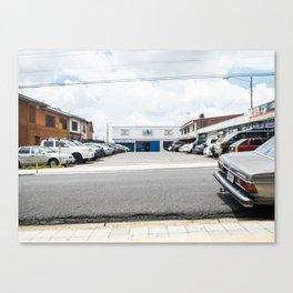 Parking lot Canvas Print
