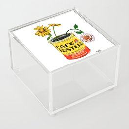 Coffee and Flowers for Breakfast Acrylic Box