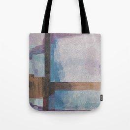 Purple Stroke Tote Bag
