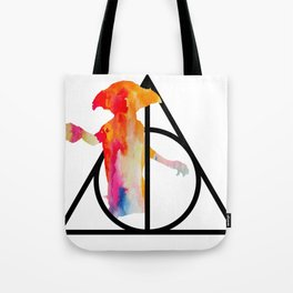 Dobby and the Deathly Hallows Tote Bag