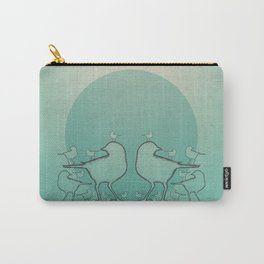 A Bird On The Head Carry-All Pouch