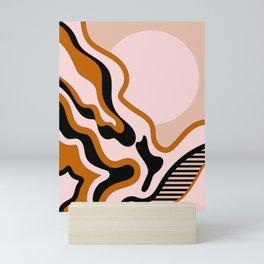 Beautiful Journey - Caramel and Cream Mini Art Print