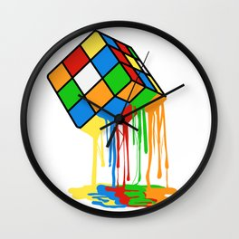 Love Brick games? Fan of Rubrik's Cube? Found the perfect tee for you! Makes a nice gift too! Wall Clock