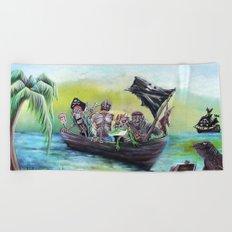 Pirate Booty Beach Beach Towel