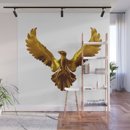 Gold eagle Wall Mural