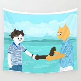 Call me by your name - Handshake Wall Tapestry