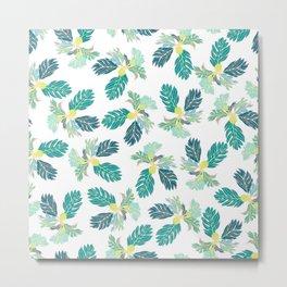 Breadfruit 'Ulu Pattern Metal Print