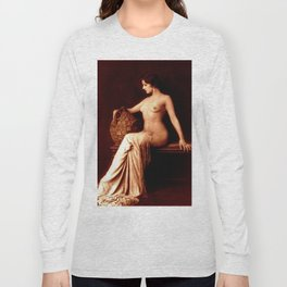 Dorothy Knapp Vintage Sophistication Long Sleeve T-shirt