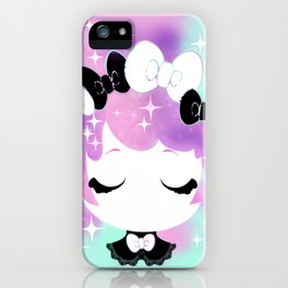 Cotton Candy Goth iPhone Case