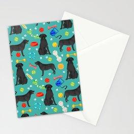 Black Lab dog toys cute dog breeds black labrador retriever gifts pet friendly Stationery Cards