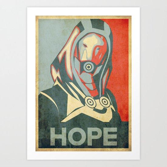 Tali Zorah : HOPE Art Print