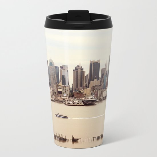NYC Metal Travel Mug