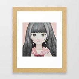 Mitsumeru☆Miracle Framed Art Print
