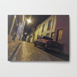 Havana Streets Metal Print