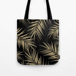 Palm Leaves Cali Finesse #1 #gold #tropical #decor #art #society6 Tote Bag
