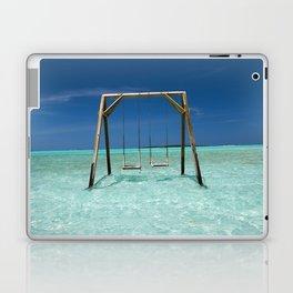 Swinging in paradise Laptop & iPad Skin