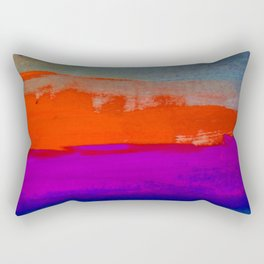 Glowing Lights and Small Things that are Big Rectangular Pillow