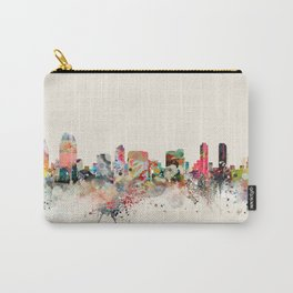 san diego skyline Carry-All Pouch