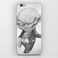black butler iPhone & iPod Skins featuring Vlad the Impatient Butler by Sebastian Black