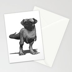 Pugussaurus Rex Stationery Cards