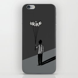 The Black Balloon iPhone Skin