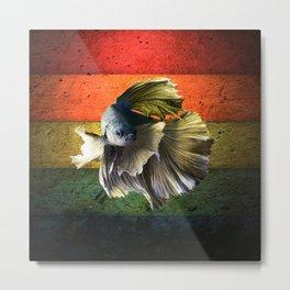 betta fish Metal Print