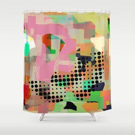 Abstract Painting No. 10 Shower Curtain