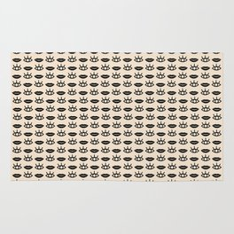 Eyes / Mouth Pattern Rug