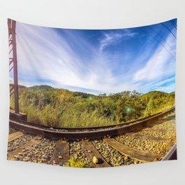 360º Railroad Wall Tapestry