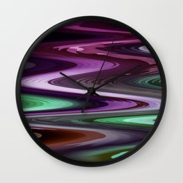 Nixie water Wall Clock