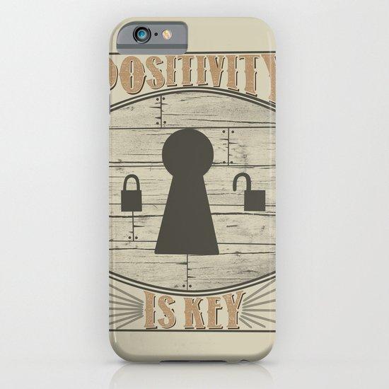 Positivity Is Key v.2 iPhone & iPod Case