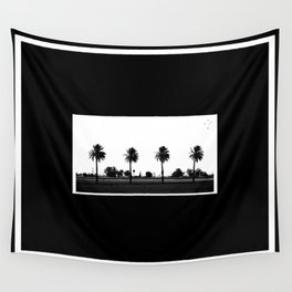 Palm Trees Four Wall Tapestry