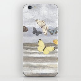 Butterfly escape iPhone Skin