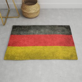 Flag of Germany - Vintage grunge Rug